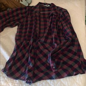 Maurice's flannel button up